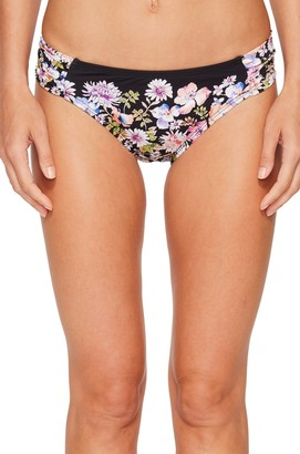 Kenneth Cole Reaction Women's Dark Romance Sash Tab Hipster Bikini Bottom