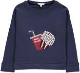 Little Marc Jacobs Sequins Popcorn Sweatshirt