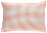 Linge Particulier Gingham Linen Pillowcase