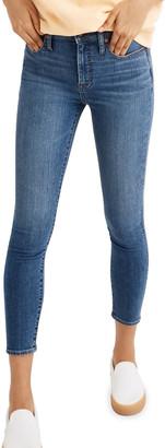 Madewell Curvy High-Rise Skinny Crop Jeans