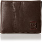 Nautica Men's RFID-Blocking Caravel Slim Billfold Wallet