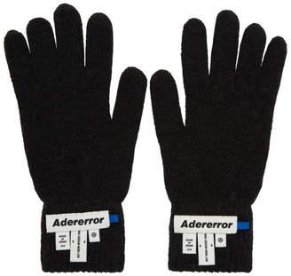 Ader Error ADER error Black Wrist Label Play Gloves