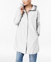 Eileen Fisher Hooded Draped-Back Jacket