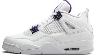 Jordan Air 4 Retro 'Metallic Pack - Purple' Shoes - 7.5