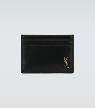 Saint Laurent Leather cardholder