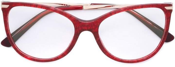 Bulgari cat eye glasses