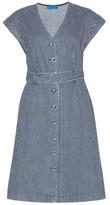 MiH Jeans Tucson Striped Cotton Dress