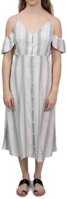 Volcom Striped Midi Dress
