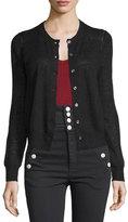 Isabel Marant Fairlea Knit Cardigan Sweater, Black