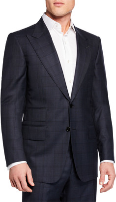 Tom Ford Men's Two-Piece Windsor Windowpane Suit