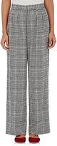 TOMORROWLAND Women's Glen Plaid Trousers