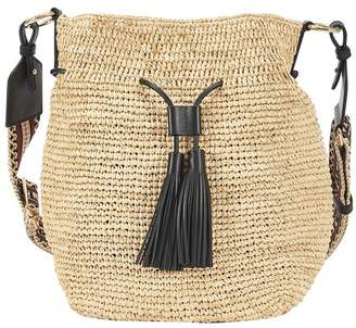 Stella McCartney Crochet cross body bucket bag