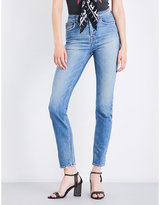 Rockins Straight high-rise jeans