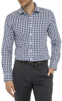 Geoffrey Beene Chico Check Body Fit Shirt
