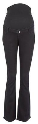 Dorothy Perkins Womens Dp Maternity Black 'Ellis' Bootcut Jeans, Black