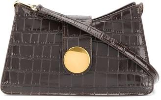 Elleme Crocodile-Effect Baguette Bag