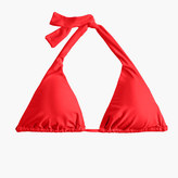 J.Crew Sliding halter bikini top