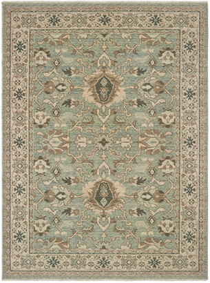 StyleHaven Adriano Machine-Made Wool Traditional Rug