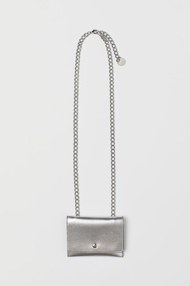 H&M Belt with Change Purse - Silver
