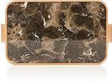 Kaymet Marble-Pattern Aluminum Tray