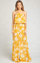 MUMU Jennifer Jumpsuit ~ Bloom Gold