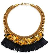 Lizzie Fortunato Tortola Beaded Hula Fringe Necklace