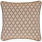 """J Queen New York Serenity Spice 18"""" Square Decorative Pillow"""
