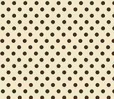 SheetWorld Crib Sheet Set - Polka Dots Cream Woven - Made In USA