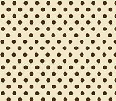 Stokke SheetWorld Fitted Oval Crib Sheet Sleepi) - Polka Dots Cream Woven - Made In USA - 26 inches x 47 inches (66 cm x 119.4 cm)