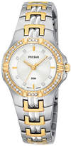 Pulsar Watch, Women's Stainless Steel Bracelet PTC388