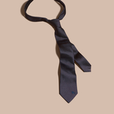 Burberry Modern Cut Patterned Silk Tie