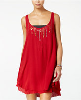 Volcom Juniors' Honey Money Sequined Shift Dress