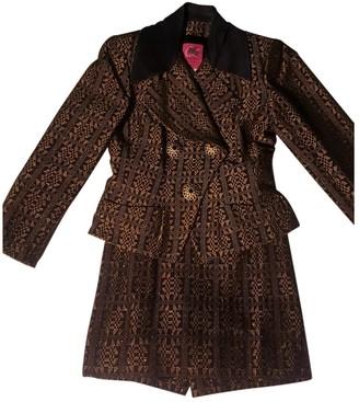 Christian Lacroix Black Cotton Jacket for Women Vintage