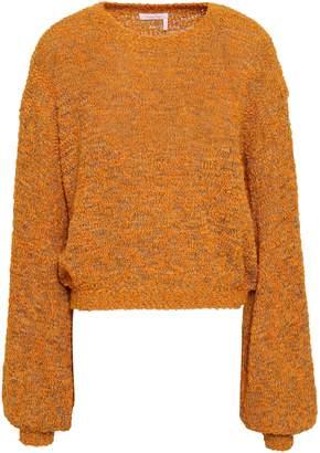 See by Chloe Merino Wool-blend Boucle Sweater