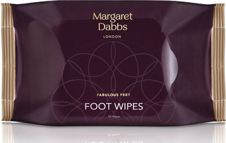 MARGARET DABBS LONDON Margaret Dabbs Foot Cleansing Wipes X 20