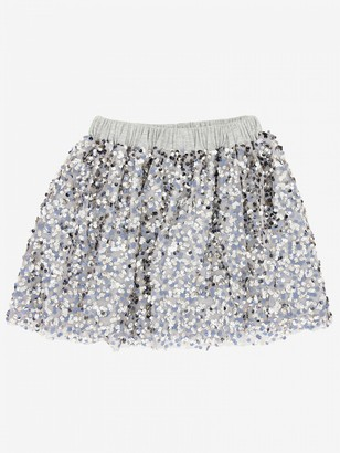 Douuod Skirt With Sequins