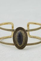 American Eagle Outfitters AE Black Moonstone Cuff Bracelet