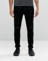Antioch Skinny Jeans with Extreme Rips