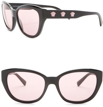 Versace 56mm Butterfly Sunglasses