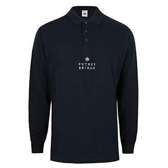 Finsbury Putney Bridge Men's Long Sleeve Polo Shirt Top,XX (Size:XX-Large)
