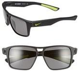 Nike Men's 'Charger' 59Mm Sunglasses - Matte Black
