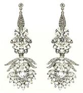 Ben-Amun Crystal Peacock Earrings