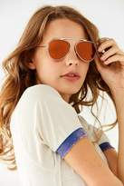 Urban Outfitters Bridgeless Aviator Sunglasses