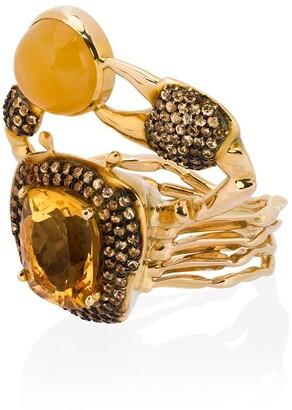 Daniela Villegas Thalasa diamond ring