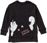 Jessica Simpson Big Girls 7-16 Cinna Long-Sleeve Top