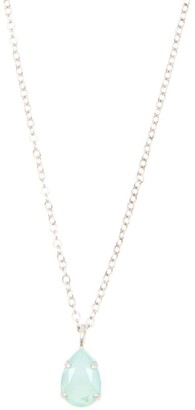 Rosaspina Firenze Drop Necklace In Mint Green