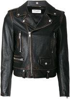 Saint Laurent Classic Bouche motorcycle jacket