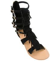 Mystique Fringe Gladiator Sandals