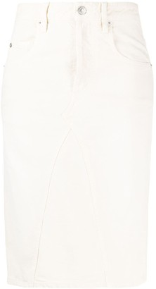 Etoile Isabel Marant High-Waisted Pencil Skirt