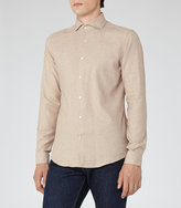 Reiss Bonucci Cotton And Cashmere Shirt